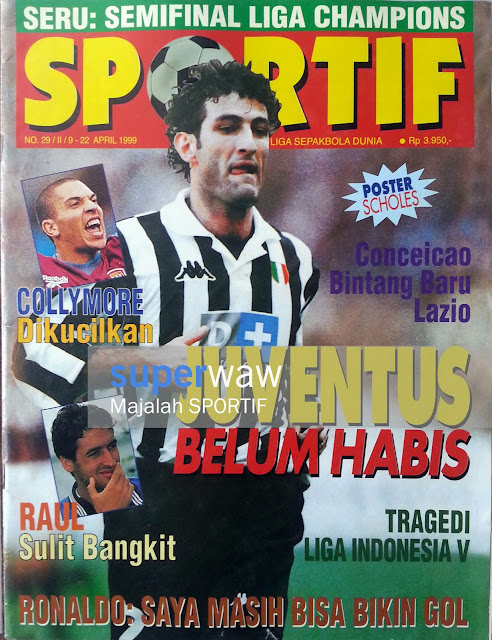Majalah SPORTIF Juventus Belum Habis