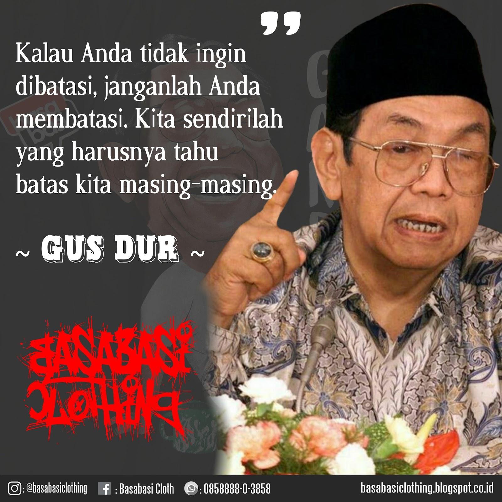 Kata Bijak Gus Dur Bahasa Jawa Cikimmcom