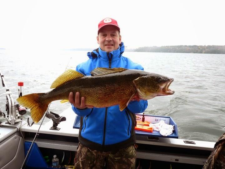 Michel Paquet, pêche Baie de Quinte, Lac Ontario, Lac St-Jean