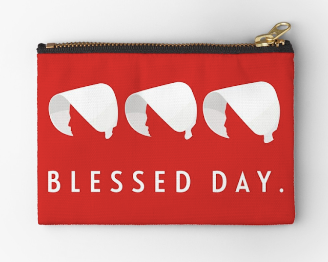 Blessed day - handmaid's studio pouch
