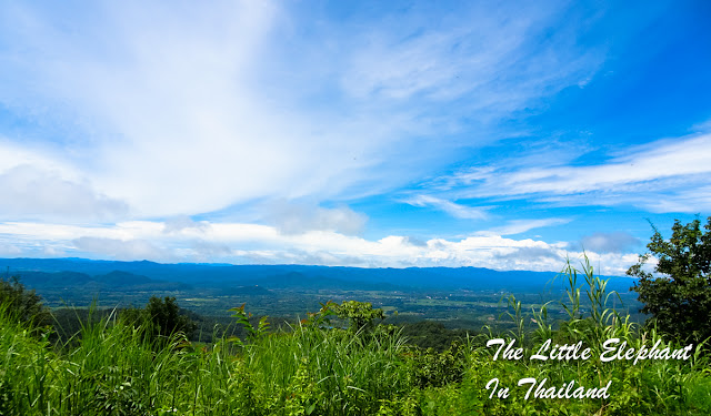 A viewpoint along route 1091 in Phayao