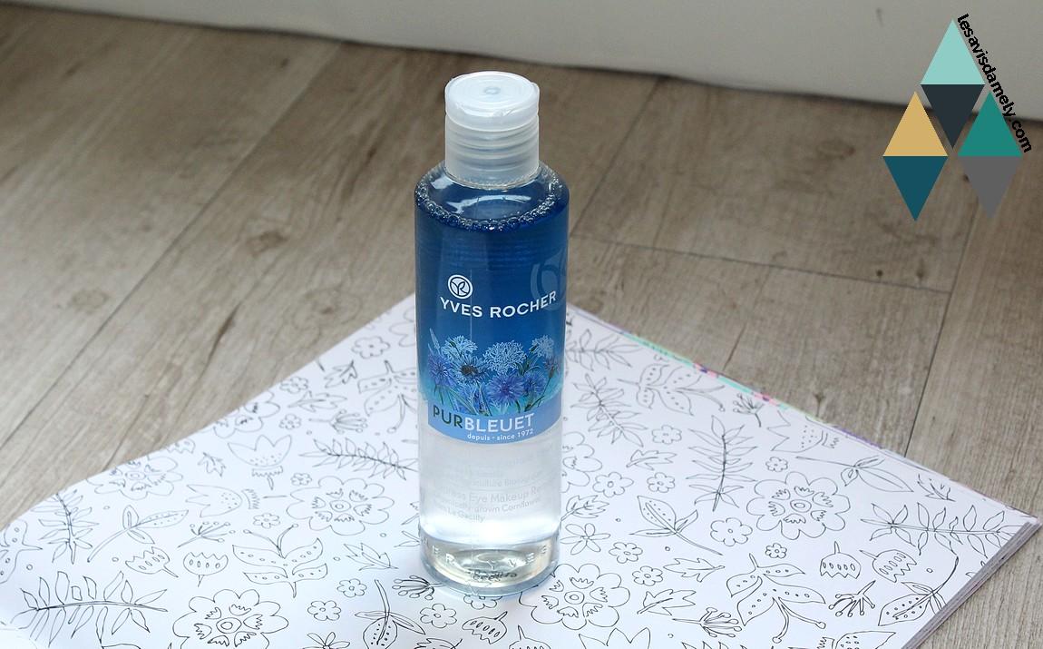 démaquillant pur bleuet Yves Rocher