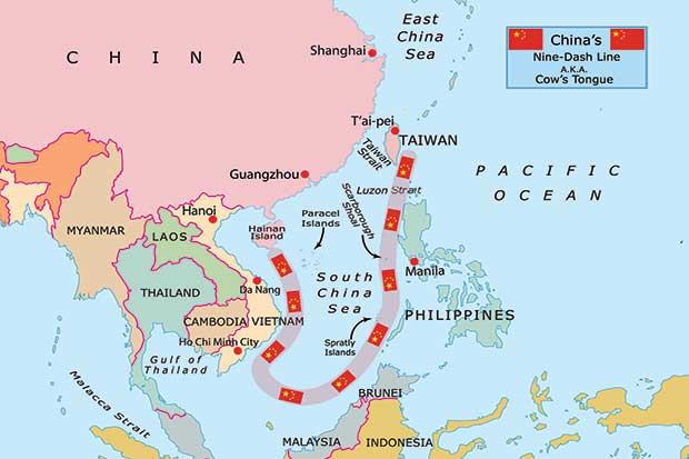 Nine Dash Line China di Natuna Tak Punya Dasar Hukum