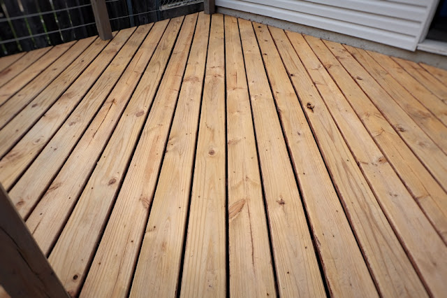 stain stripper deck removal removed after clean prep