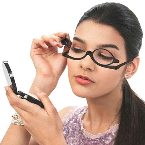 gafas de maquillaje