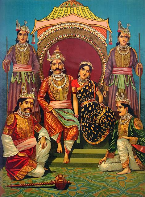 Draupadi, Yagnaseni, Krishna, Panchali, Malini, Parshati and Nityayuvani