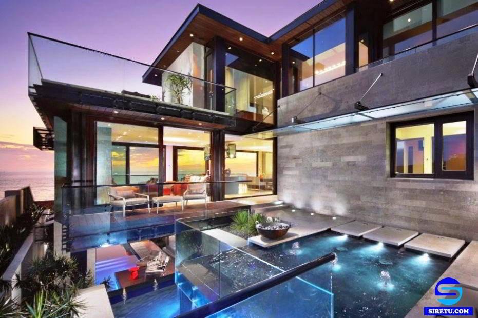 20 desain rumah kaca minimalis modern 2 lantai sederhana