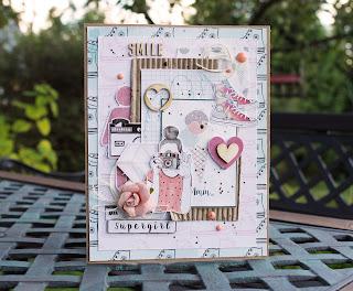 скрап, открытка, кардмейкинг, подарок, подружке