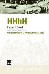 HHhH de LAURENT BINET