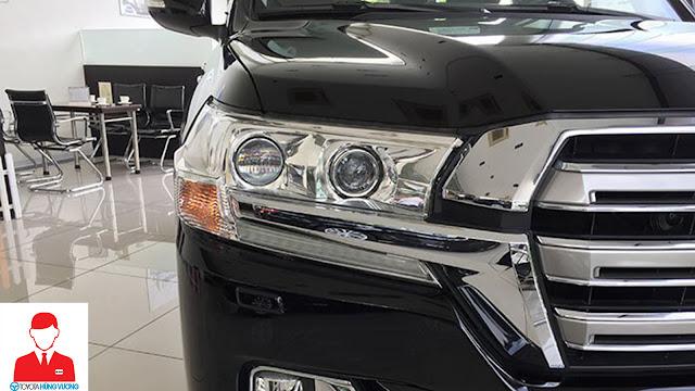 Giá xe Toyota Land Cruiser 2018 ảnh 10