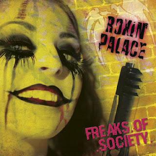 """Το lyric video των Roxin' Palace για το τραγούδι """"Neighbourhood Stars"""" από τον δίσκο """"Freaks of Society"""""""