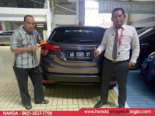 Serah-Terima-Honda-HRV-Jogja