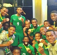 Nigeria wins its first medal as under 23 team beats Honduras 3-2 to win the Bronze medal
