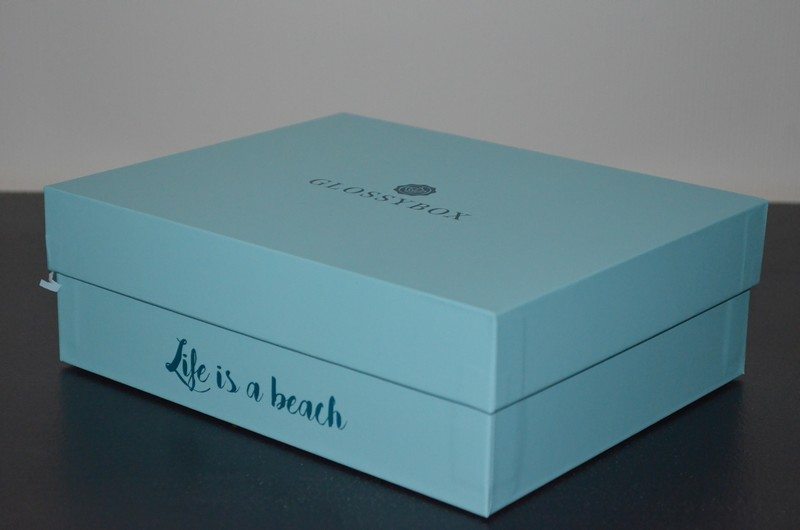 Glossybox Juillet 2016 | Life is a beach  ,box beauté