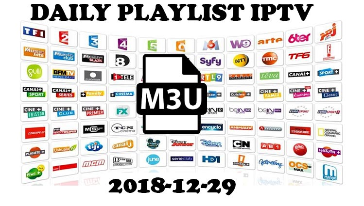 Daily IPTV m3u Links 2018-12-29