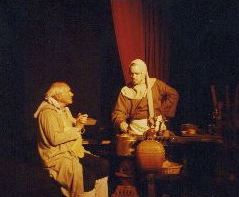 The cook and the gardener in the play the Fool