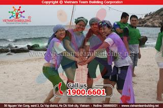 MARK - Trò chơi team building hay nhất tại Bình Định