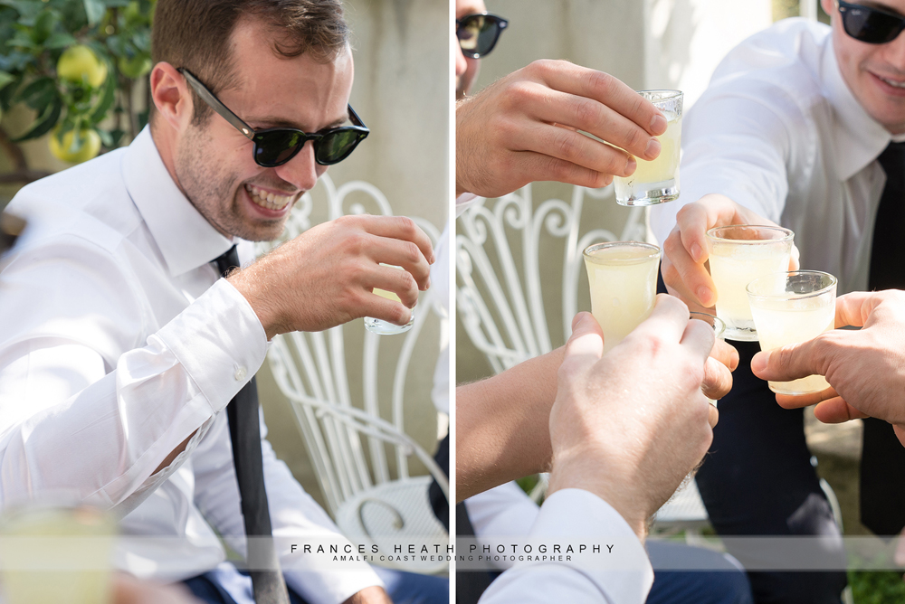 Wedding limoncello