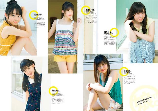 Morning Musume Revolution 21 Wallpaper HD