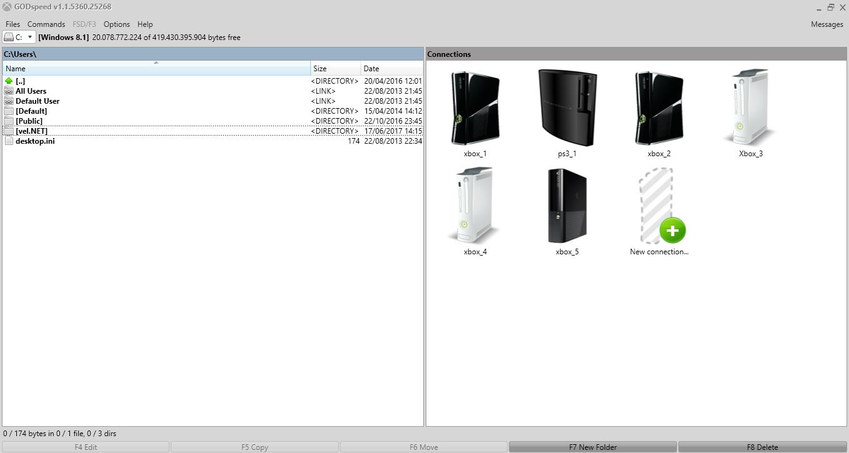 Cara Transfer Games XBox 360 Ke PC Menggunakan GODspeed