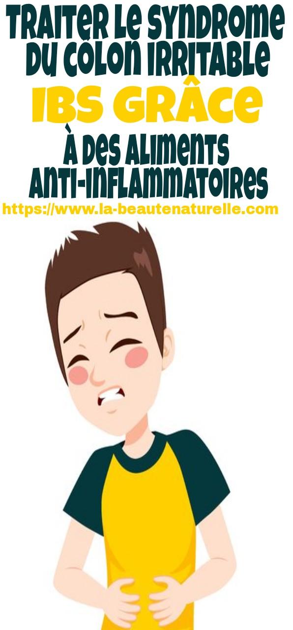 Traiter le syndrome du côlon irritable IBS grâce à des aliments anti-inflammatoires Traiter le syndrome du côlon irritable IBS grâce à des aliments anti-inflammatoires