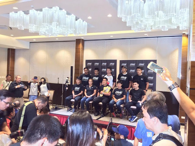 May 9, 2017 at the Vikings Venue at the SM Mall of Asia Bayside, the exclusive media day for the famed Team Lakay of Baguio City happened. It was hosted by ONE Championship