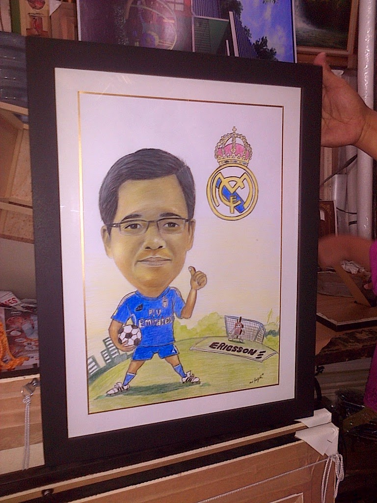 Jasa Karikatur Wajah Karikatur Digital Dan Manual 2014