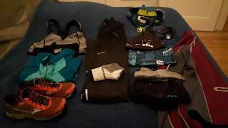 Vêtements de course, multicouches, préparation