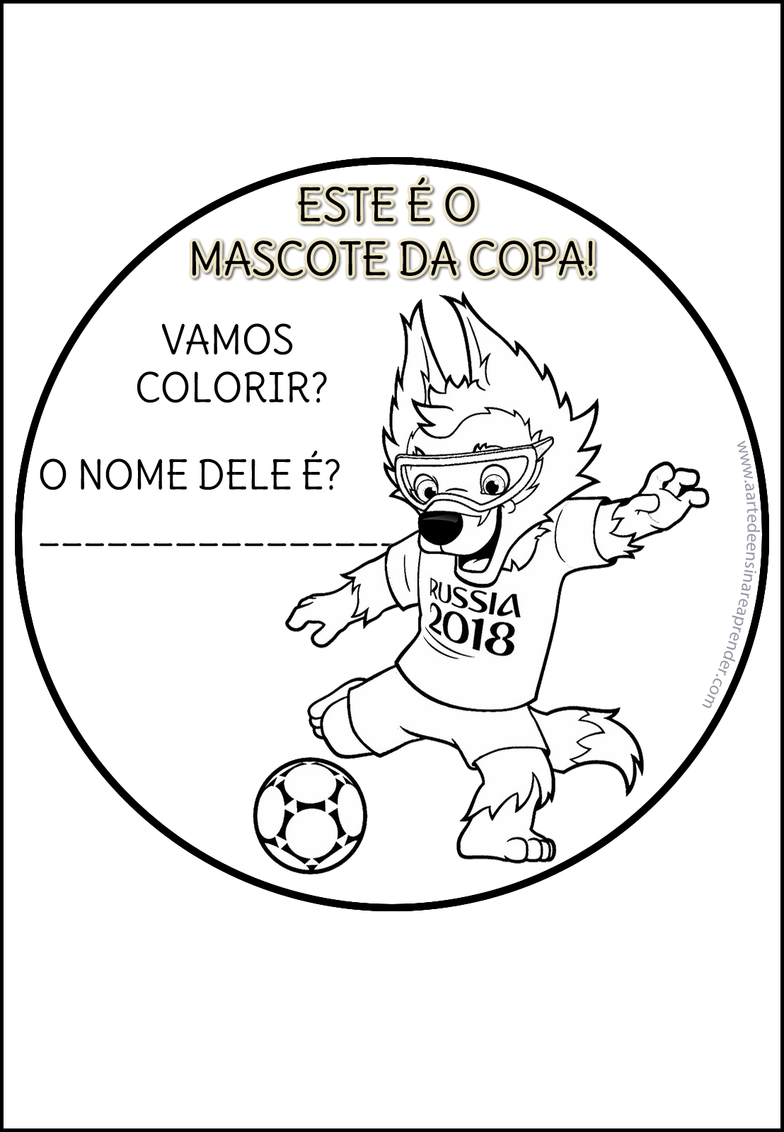 Livrinho Da Copa Russia 2018 A Arte De Ensinar E Aprender