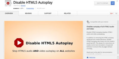 How to stop Auto Play in HTML5 Video in Chrome or Firefox?