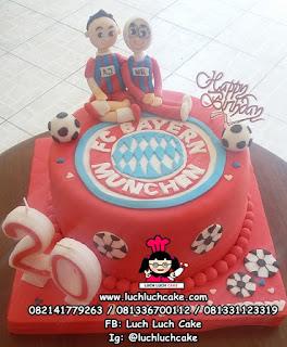 Kue Tart Ulang Tahun Bayern Munchen Surabaya - Sidoarjo