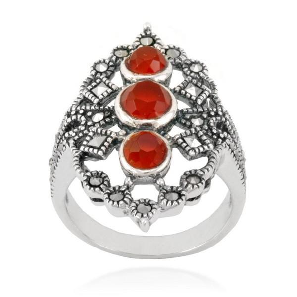 Nhẫn bạc Thái NNT201