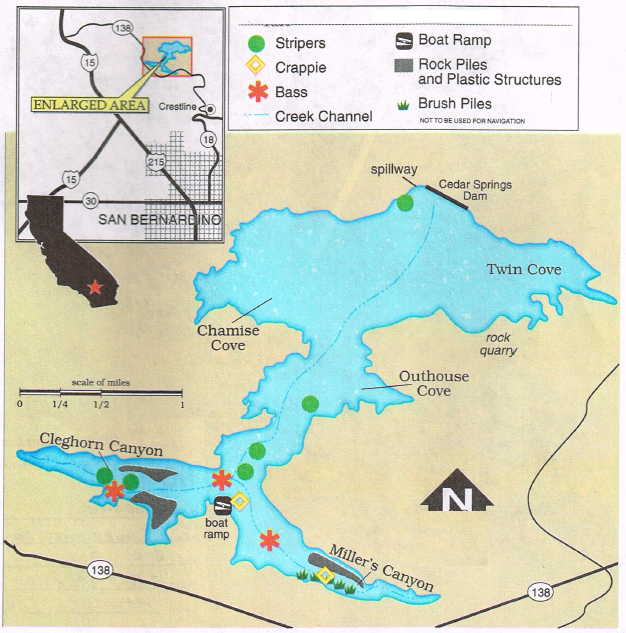 Silverwood lake map gallery diagram writing sample ideas for Silverwood lake fishing report
