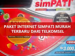 Cara Terbaru Daftar Paket Internet Simpati Paling Murah