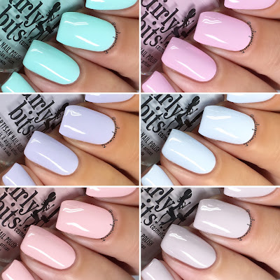 girly bits cosmetics bridal bliss collection