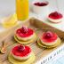 Mini cheese cake di ricotta, mascarpone e lamponi