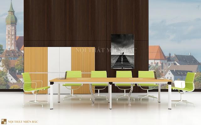 Tạo dựng không gian phòng họp độc đáo với chất lượng công năng với nội thất văn phòng nhập khẩu