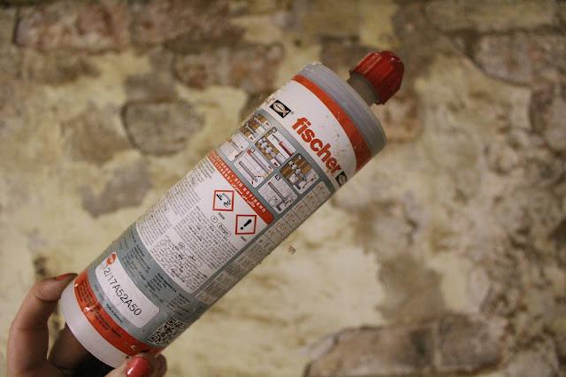 DIY using chemical resin