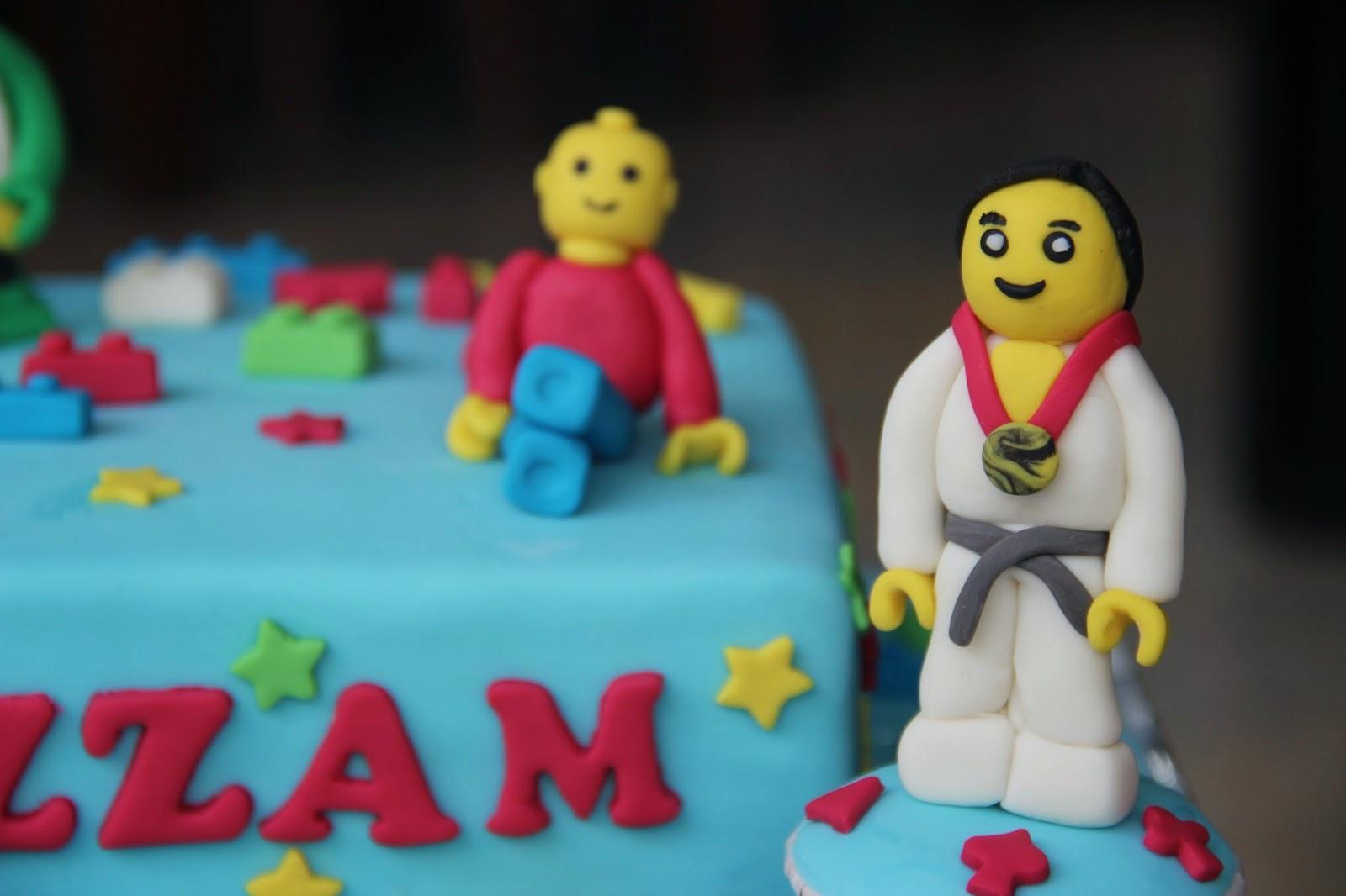 Kue Ratu Kue Lego Figurine Kecil Kecil Ala Lego