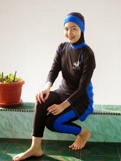Inilah Model Fashion Dan Hijab Untuk Renang