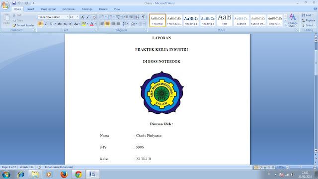 Cara Mengatur Jarak Spasi Microsoft Word
