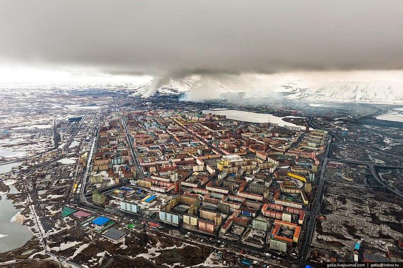La deprimente y aislada ciudad de Norilsk | Rusia