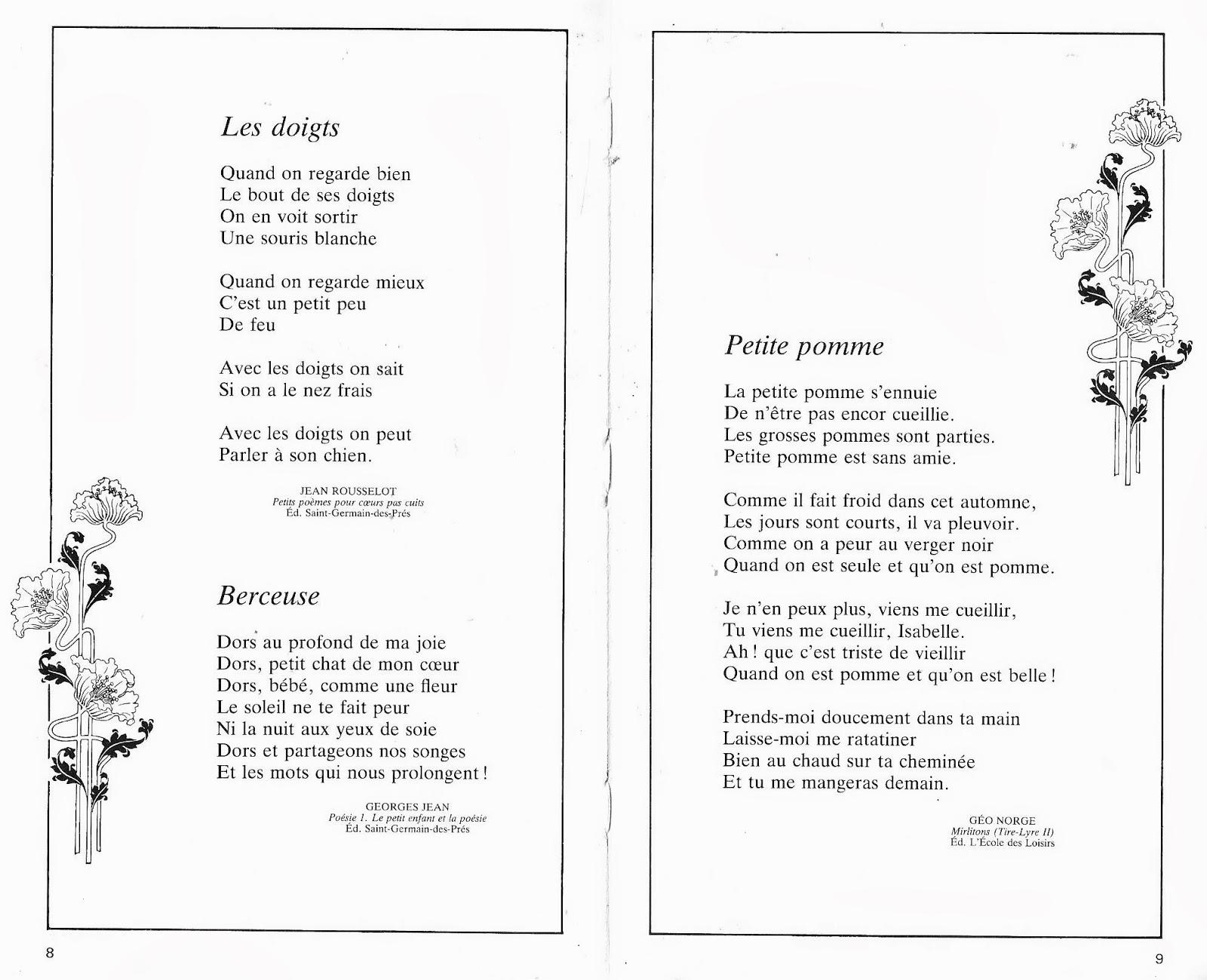 Fabulous Manuels anciens: Renault, Laurent, 100 poèmes pour les enfants de  WP47