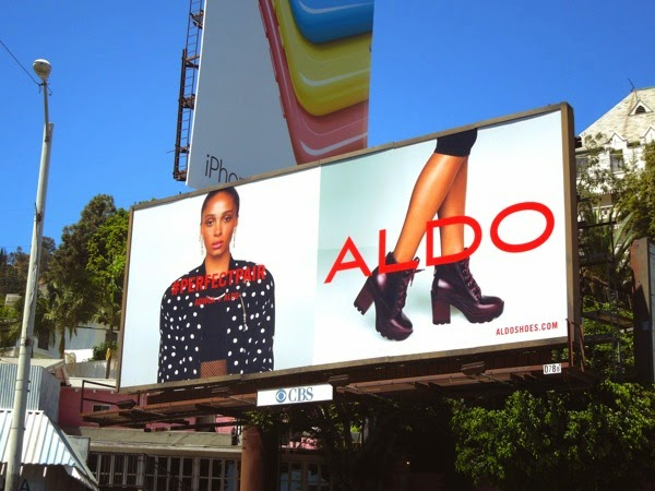 Aldo Perfect pair Adwoa Aboah FW 2014 billboard
