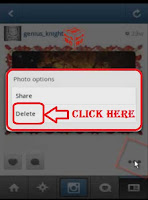 how to delete photos on instagram all at once