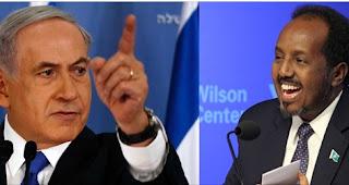 Kulanka Benjamin Netanyahu iyo Xasan Sheekh