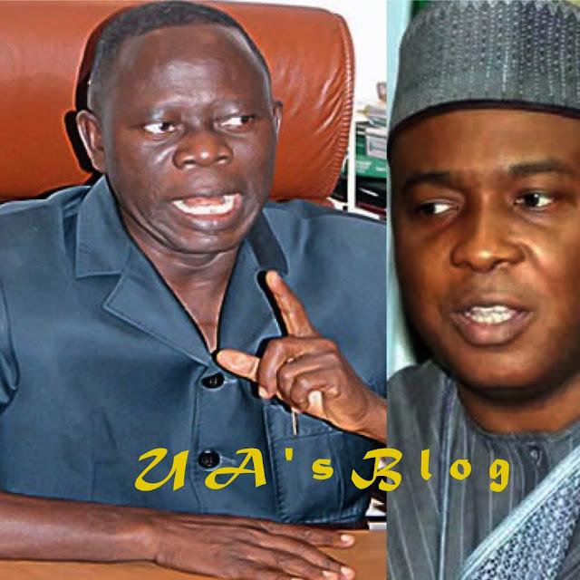 Saraki can't run to PDP with our crown – Oshiomhole, APC Senators