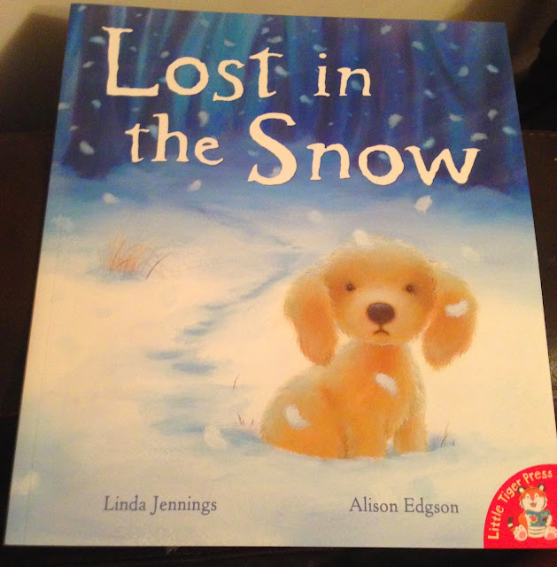 Our Christmas Book Advent tree   Ideas for the Best Children's Books to Buy this Christmas - lost in the snow