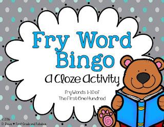 Cloze Bingo