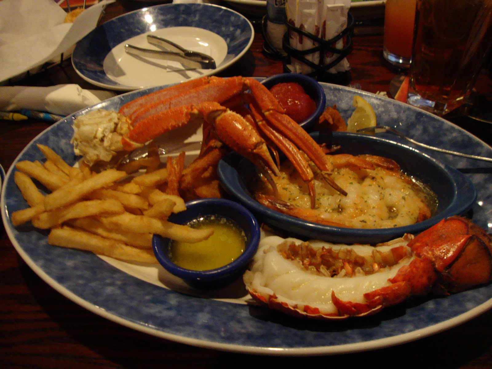 Nursing My Home: Lunch At Red Lobster